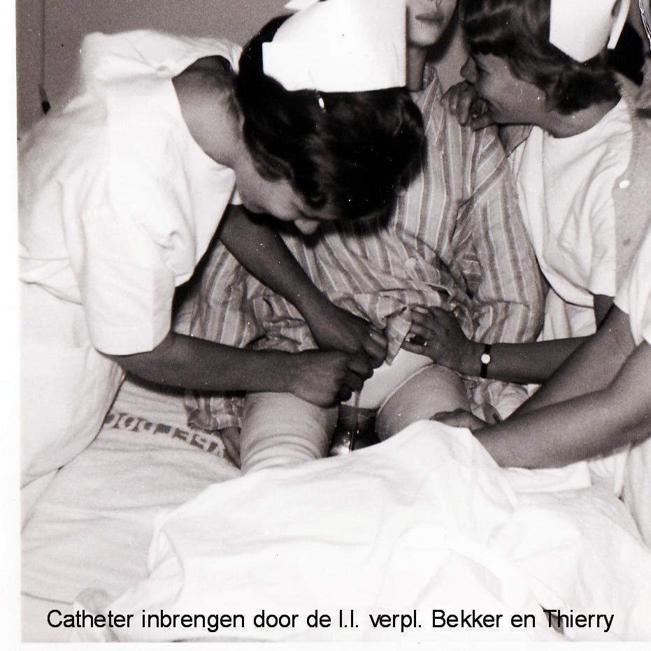 Els Bekker en Christien Thierry aug. 1965